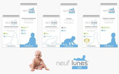 Neuf Lunes, solutions santé des inconforts de bébé