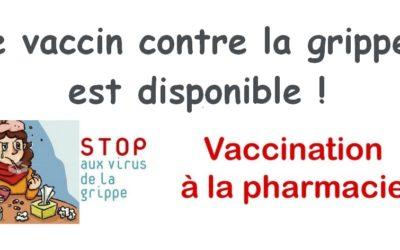 Vaccin antigrippe 2018, mode d'emploi