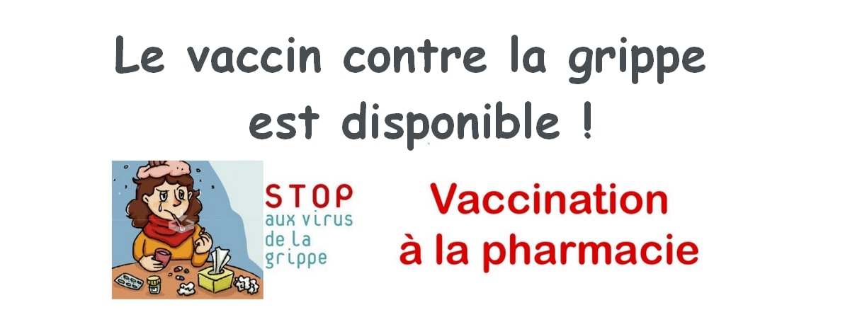 vaccin grippe 2018 2019 disponible
